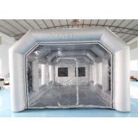 Wholesale 7x4x3m Carbon Filter Paint Inflatable Spray Booth / Portable Car Spray Booth Tent from china suppliers