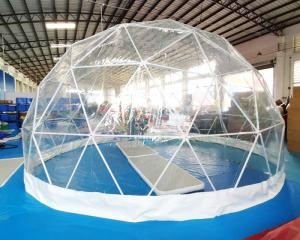Wholesale Garden Transparent 0.9mm PVC Inflatable Globe Tent from china suppliers