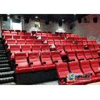 Wholesale Customized Shopping Mall 4D Movie Theater With Ring Screen / Flat Screen from china suppliers