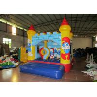 Wholesale 0.55mm PVC Tarpaulin Inflatable Smurf Jumping Castle House / Mini Baby Bounce House from china suppliers