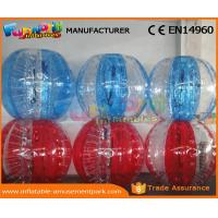 Wholesale Human Sized Soccer Bubble Ball Inflatable Zorb Ball Heat Sealed 1 Year Warranty from china suppliers