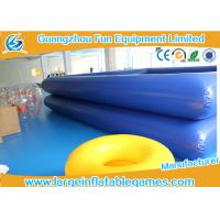 Wholesale Water Park Equipment Inflatable Water Pool , Inflatable Square Pool For Paddle Boats from china suppliers