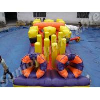 Wholesale outdoor 3 in 1 inflatable obstacle course game with CE.UL from china suppliers