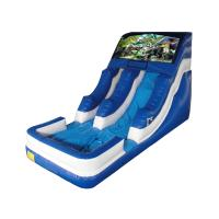 Wholesale Indoor Inflatable Kids' Water Slides , Commercial Water Slides Customized from china suppliers