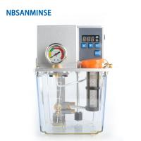 Wholesale NBSANMINSE SDX2-22C Thin Oil Lubrication Pump Gear 2 liter 3 Liter 2 Mpa with single / Double digital display For CNC Ma from china suppliers