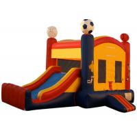 China Customized Children Inflatable Castle Bounce House With Slide on sale