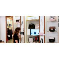 Wholesale Customized Size Interactive Showcase Display Cabinet For Shoes And Bags 3D Sensing Technology from china suppliers