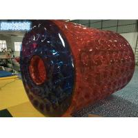 China 0.7mm TPU Red Inflatable Body Balls / Human Sized Large Inflatable Beach Balls on sale