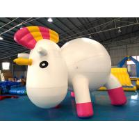 Wholesale Anti - UV Material Standing Inflatable Unicorn Cartoon For Swimming Pool from china suppliers