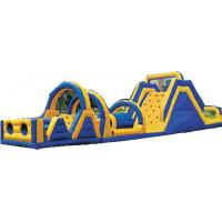 Wholesale 0.55mm PVC Outdoor Commercial Blow Up Inflatable Obstacle Courses For Adult YHOB 007 from china suppliers