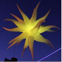 Wholesale Various Party Decoration Stars Crooked Inflatable Star with Lights from china suppliers