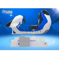 Wholesale Cool Appearance FRP Material 3D Racing Car Simulator Electric Dynamic System 9D VR Ride For Sale from china suppliers