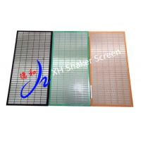 Wholesale 304 Black Mongoose / Meerkat Composite Shaker Screen For Solid Control System from china suppliers