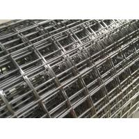 SWG 25 Heavy Duty Welded Wire Mesh Panels / Sheets For Draining Rack