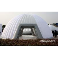 China Huge White Inflatable Air Tent Outside Backpacking Inflatable Transparent Tent on sale