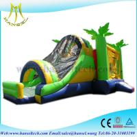 Quality Hansel best quality giant inflatable slide,playing equipment for wholesale for sale