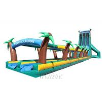 China Super long tropical rainforest slide WSS-276/0.55mm PVC Material For Adults on sale