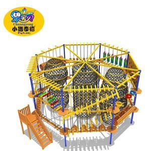 Wholesale Children'S Play Center Equipment , Kids Adventure Indoor Playground Set from china suppliers