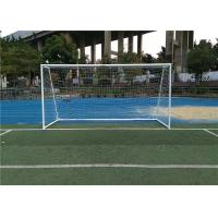 Wholesale Rust Protection Outdoor Sports Facilities Soccer Field Equipment Removable 11 Man Soccer Goal Post from china suppliers