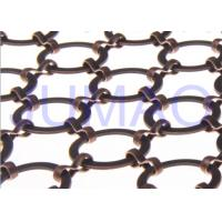 Wholesale Bronze Hotel Metal Ring Curtain Antique Copper Space Partition With 22 Mm Rings from china suppliers