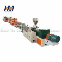 Wholesale Reliable Plastic Pipe Extrusion Line , Electricity PVC Conduit Pipe Making Machine from china suppliers