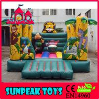 Wholesale BO-152 New Arrival Funny Cartoon Inflatable Bouncer Castle from china suppliers