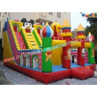 Wholesale Giant Octopus PVC Commercial Inflatable Slide Combo Games With Customised from china suppliers