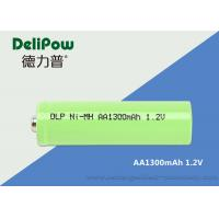 Wholesale Green Power Nimh Aa Rechargeable Batteries For Medical Equipment 1300mAh from china suppliers