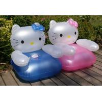 Wholesale pvc inflatable kids sofa / inflatable air sofa for children / inflatable furniture from china suppliers