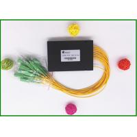 Wholesale SC / APC Fiber Optic PLC Splitter Low excess loss 1x16 ports  for PON CATV from china suppliers
