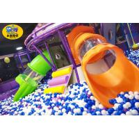 Wholesale Commercial Play Center Playground Tube Slide Safe Fire Resistance from china suppliers