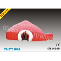 Wholesale Red Inflatable Party Dome Tent YHTT-004 with Warp-115N Weft-121.8N from china suppliers