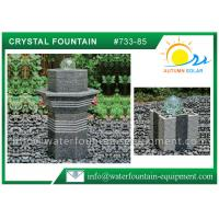 Buy cheap Rolling Glass Ball Fountain , Glass Ball Water Feature Different Shape from wholesalers