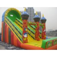 Wholesale PVC Tarpaulin Huge Commercial Inflatable Water Slides with packing bag with Anti-UV from china suppliers