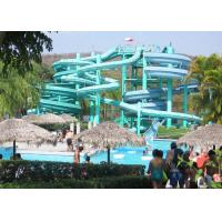 Wholesale Commercial Family Water Slide Outdoor Fiberglass Slide Equipment from china suppliers