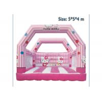 Wholesale KT Cat Inflatable Bounce House Jumping Bouncer Fire Retardant For Kids from china suppliers