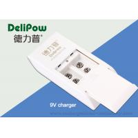 Wholesale Microphone 6f22 Recharge Battery Charger , Alkaline Battery Charger 2 Slots from china suppliers