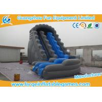 China Professional Childrens Inflatable Backyard Water Slide Gray Bouncer Slide Inflatable Toys on sale