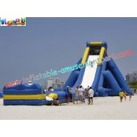 Quality ODM Kids Large Long 0.55mm PVC tarpaulin Commercial Inflatable Slide rentals for sale