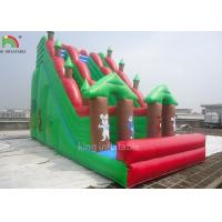 Wholesale Double Sewing Inflatable Dry Slide Green Forest Theme EN14960 CE EN71 from china suppliers