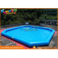 Wholesale Puncture - Proof PVC Inflatable Water Pools / Home Yard Blow Up Swimming Pool from china suppliers