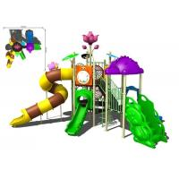Quality Colorful Galvanized Pipe And LLDPE Kids Water Slides Outdoor Park For Water Equipment for sale