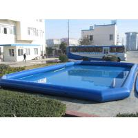 Wholesale Adults Floating Inflatable Water Pool / Boat Swimming Pool For Amusement Park from china suppliers