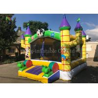 Wholesale Yellow Outdoor Playground Inflatable Jumping Castle For Kids / Indoor Bouncy Castle from china suppliers