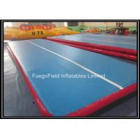 Wholesale Custom Tumble Track Inflatable Air Mat for Gym 0.9mm PVC Tarpaulin from china suppliers