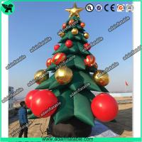 Quality Christmas Event Party Decoration Giant Advertising Inflatable Pine Tree for sale