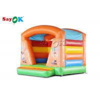 China Colorful Commercial  Inflatable Bounce House Trampoline Fire - Retardant on sale