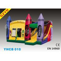 Wholesale 0.55mm PVC Tarpaulin Inflatable Combo Bouncers Slide YHCB-010 with Jumping House from china suppliers
