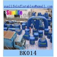 Wholesale inflatable 44pcs millium paintball bunker Flexible combination from china suppliers