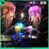 Wholesale 1m Stage Inflatable Lighting Led Decoration,Inflatable Jellyfish for Party from china suppliers